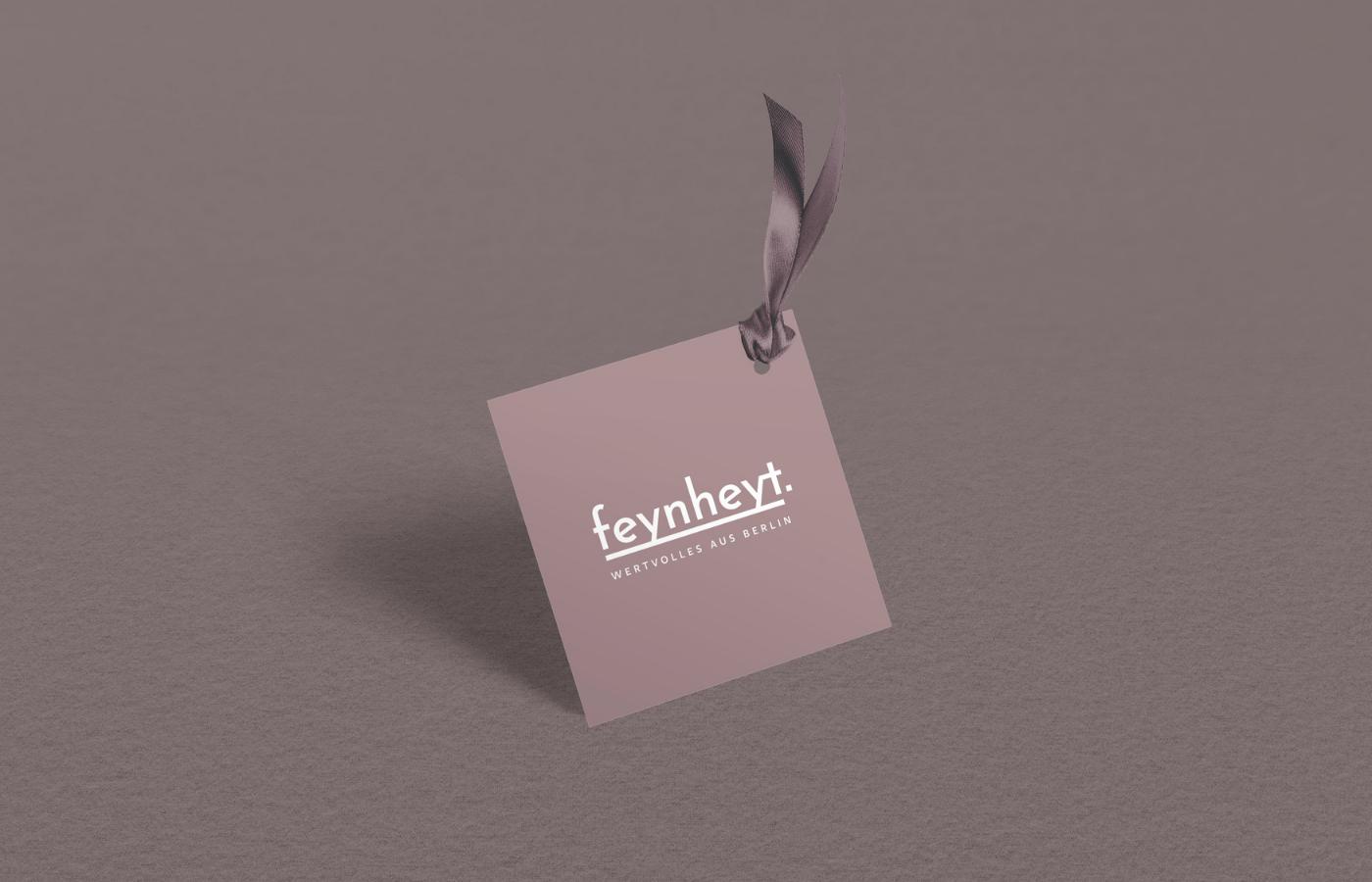 FEYNHEYT – eine feine Markenentwicklung für ein Modelabel aus Berlin-Moabit